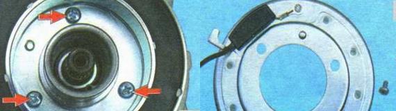 Замена электромагнита компрессора кондиционера Лада Гранта