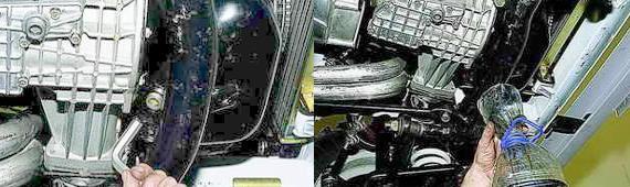 Замена масла в двигателе Нива 2121 и 2131
