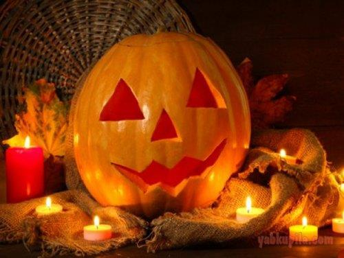 """Светильник Джека из тыквы и праздничный стол на Хэллоуин """" ЯБкупила - все о моде, красоте и шопинге"""
