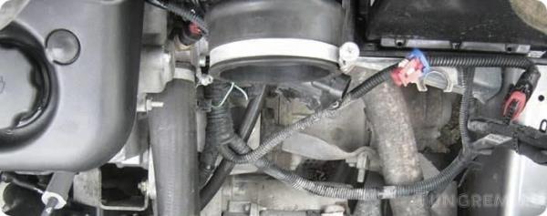 Замена вентилятора охлаждения радиатора Lada Kalina