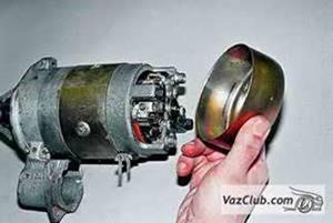 Разборка и сборка стартера карбюраторного двигателя Нива