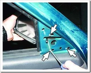 Как заменить зеркало заднего вида 2110