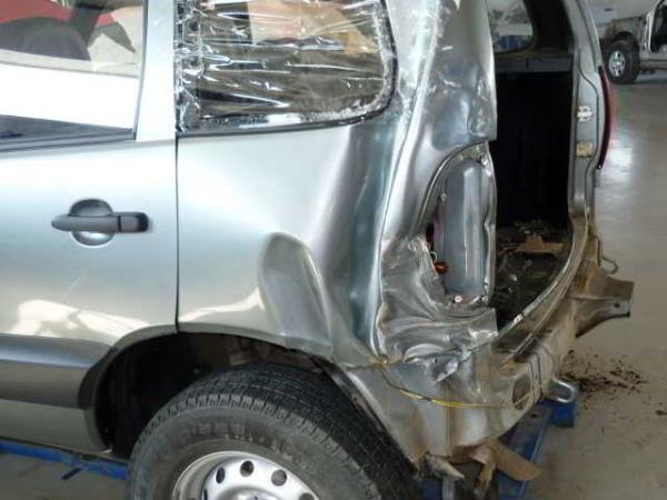 Кузовные работы Chevrolet Niva - восстановление после ДТП