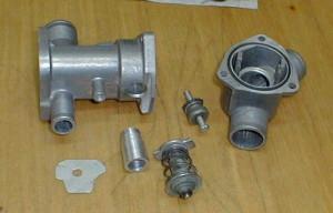 Фото проверки исправности термостата ВАЗ 2110, лада2111.рф