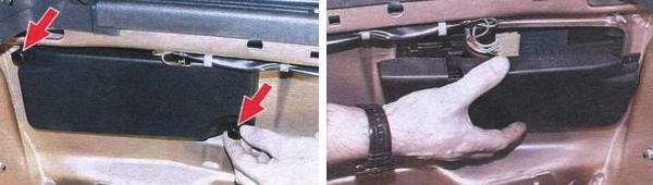Замена ламп задних фонарей на автомобиле ваз 2109