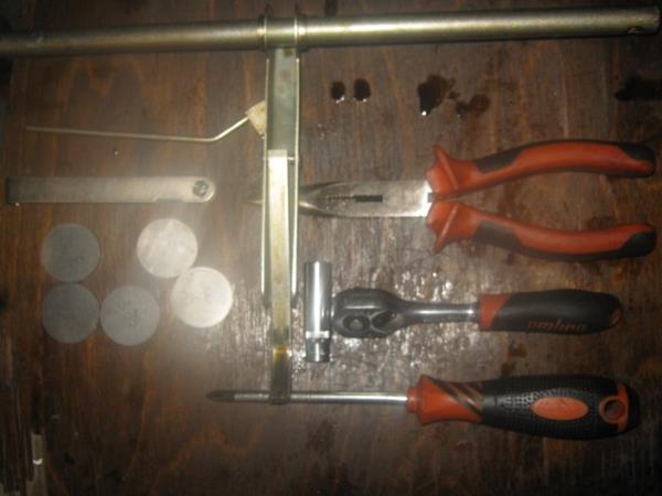 инструменты для регулировки клапанов на ВАЗ 2110-2115