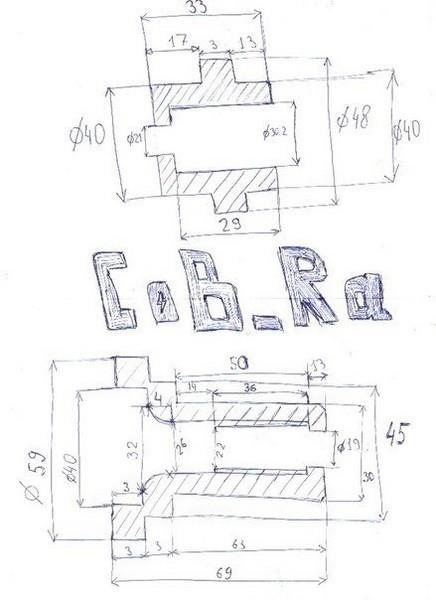 Необслуживаемые передние ступицы на ВАЗ 2107 (чертеж втулок)