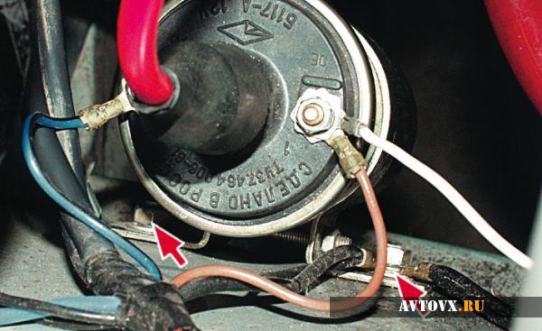 Подключение зажигания ВАЗ 2106