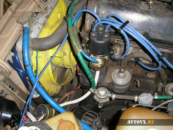 Установка катушки зажигания ВАЗ 2109