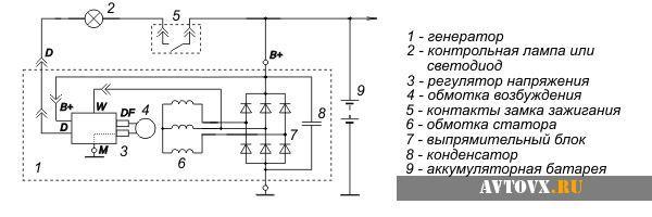 Схема генератора нового образца