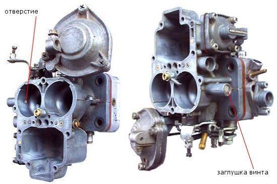 ваз 2107 плавают обороты двигателя карбюратор