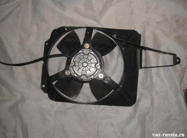 Вентилятор в сборе с кожухом фото