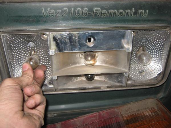 Как заменить задние фары на ваз 2106