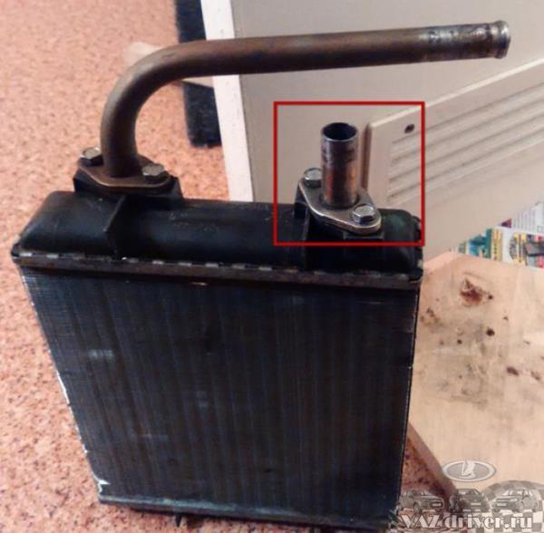 радиатор печки ваз-2107
