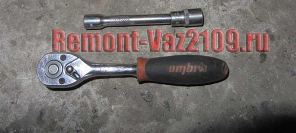 инструмент для замены датчика положения коленвала на ВАЗ 2109-2108