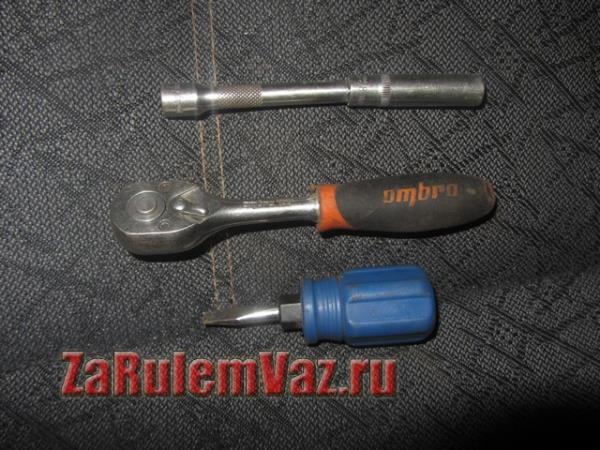 инструмент для замены наружной ручки двери на ВАЗ 2114 и 2115