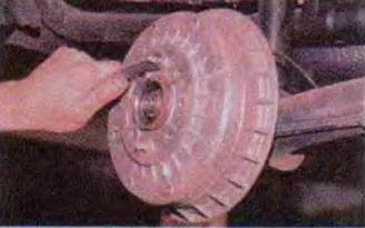 Мероприятия по снятию заднего колеса