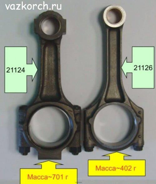 Отличия 16 клапанных двигателей ваз