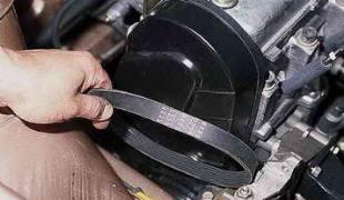 Ремень генератора ВАЗ 2112