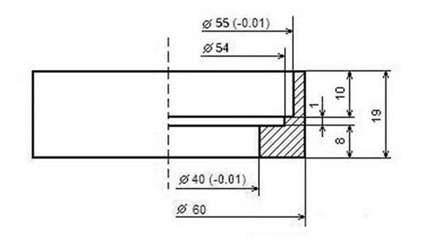 Полезные чертежи для установки суппортов ВАЗ 2112 в ВАЗ 2107