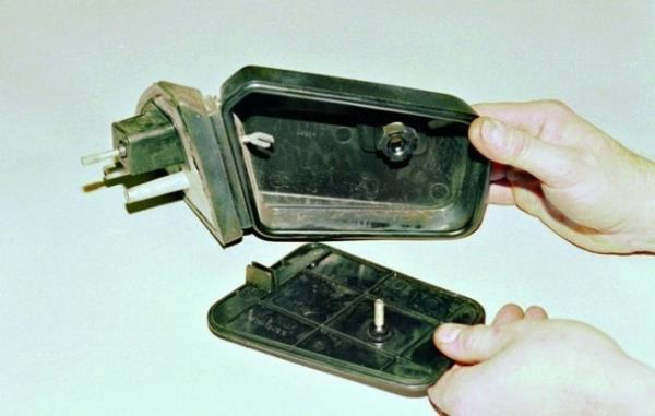 Замена зеркальной части бокового зеркала на ВАЗ 2108, ВАЗ 2109, ВАЗ 21099