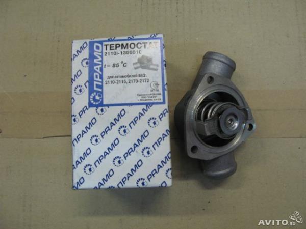 Термостат на ВАЗ 2110 цена 8 клапанов