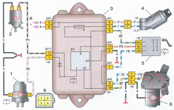 Щетки на генератор ВАЗ 2115 цена