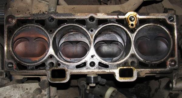 блок цилиндров 8 клапанного двигателя лада калина 1118