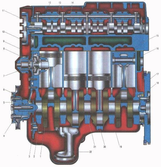 Двигатель Лада Ларгус