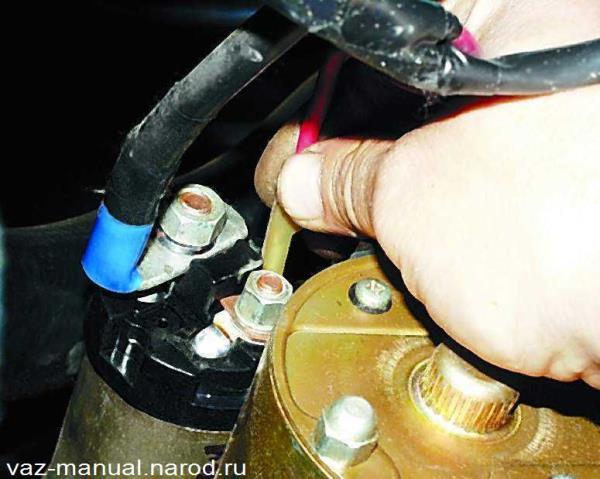 ВАЗ 2105 ручной тормоз