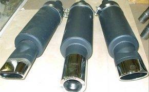 Замена глушителя на автомобиле ВАЗ 2112, ВАЗ 2111, ВАЗ 2110