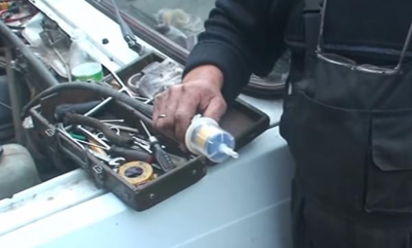 Замена топливного фильтра на ВАЗ