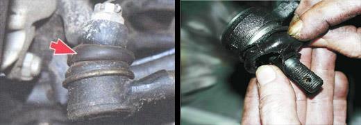 проверка рулевых тяг ваз 2106