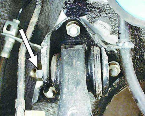 Снятие и установка балки задней подвески в сборе Ваз 2108 Лада Самара