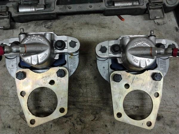 Установка передних тормозов от ВАЗ 2110-12 на ВАЗ Классику