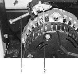 снятие и установка генеартора ВАЗ 2170 2171 2172 Приора
