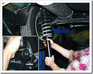 Как заменить амортизатор и пружину задней подвески на десятке