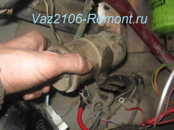 замена катушки зажигания на ВАЗ 2106