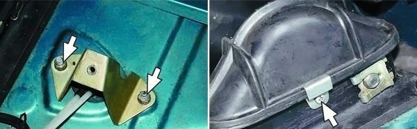 как поменять тросик сцепления на автомобиле ВАЗ 2110