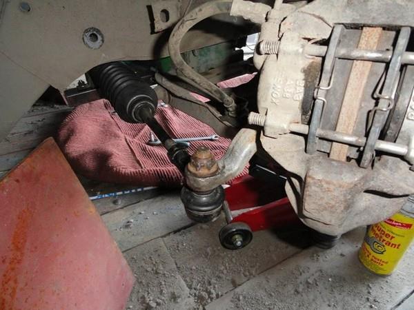 Установка рулевой рейки от VW на ВАЗ 2101