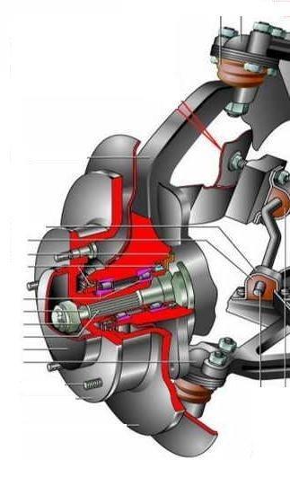 Установка в передние ступицы НИВЫ 21213 двухрядных роликовых подшипников от грузовика IVEKO Daily