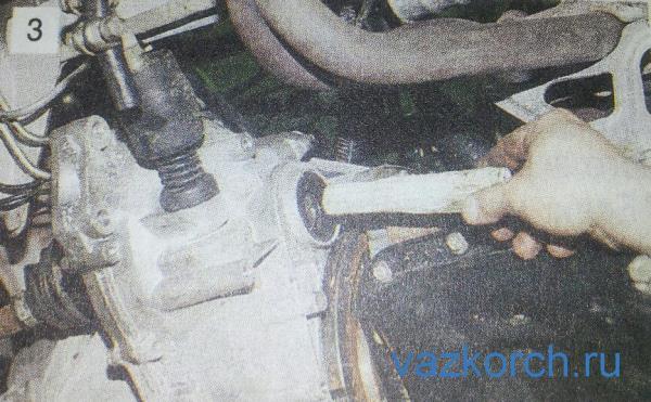 Снятие коробки передач ваз 2109