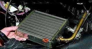 Радиатор отопителя ваз 2104