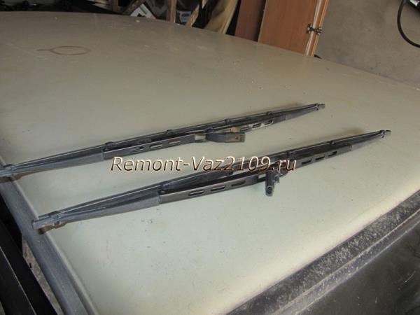 замена щеток стеклоочистителей на ВАЗ 2109-2108