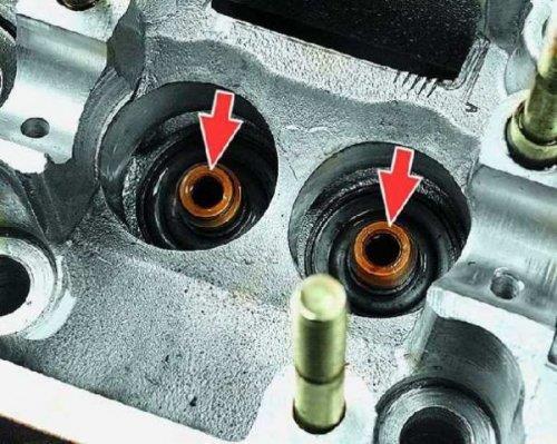 Монтаж и демонтаж маслосъемных колпачков ВАЗ 2109