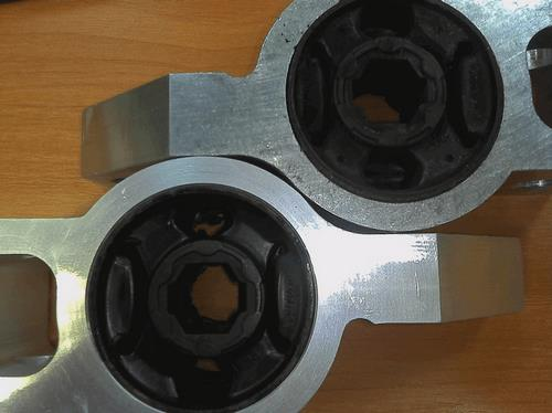 Замена сайлентблоков передней подвески