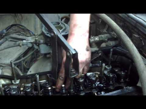 Замена маслосъёмных колпачков на ваз 2105