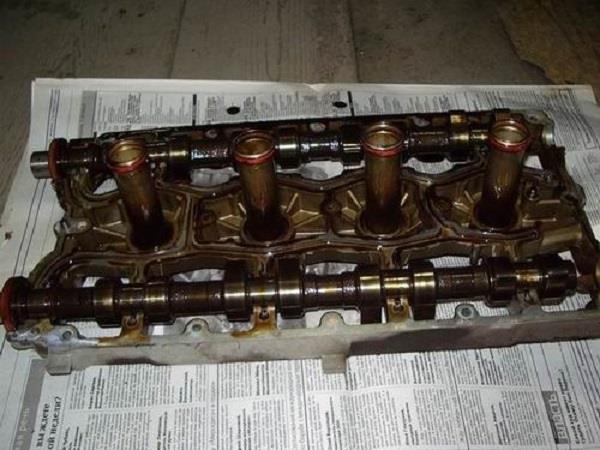 Снятие деталей агрегата
