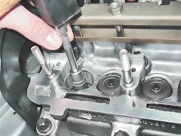 Как заменить маслосъемные колпачки на ваз 2114