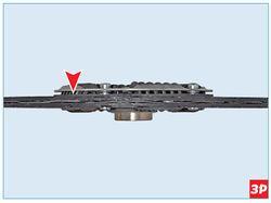 Расположение волнистой пружинной пластины Lada Largus